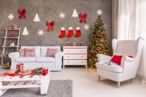 decorating house for christmas party