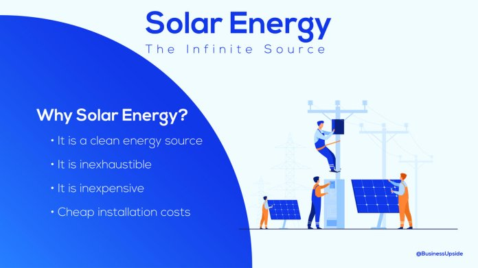 source of solar energy