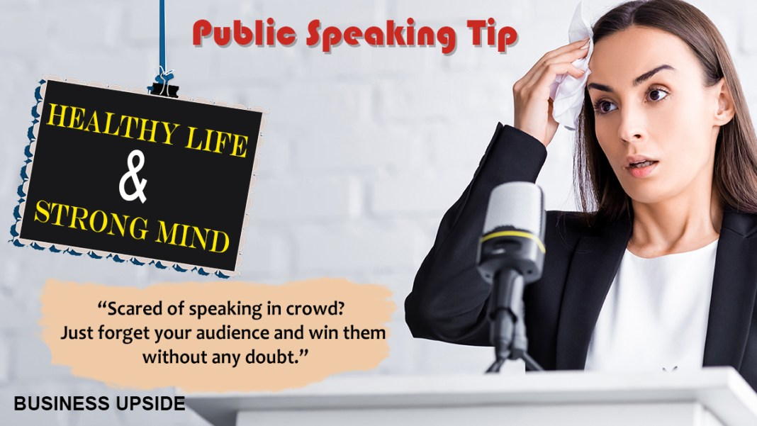 public speaking fear
