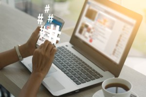 when to use the hashtag