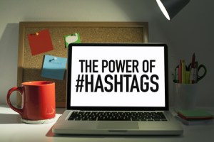 purpose of using a hashtag