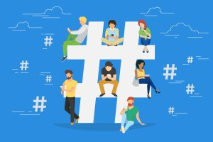 how to use the hashtag