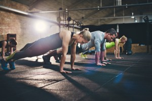 cross-training session