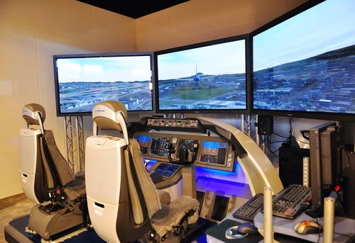 Flight Simulator Controls