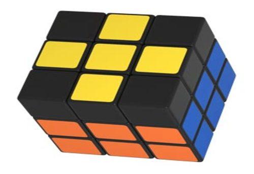 Yellow Cross Rubiks Cube