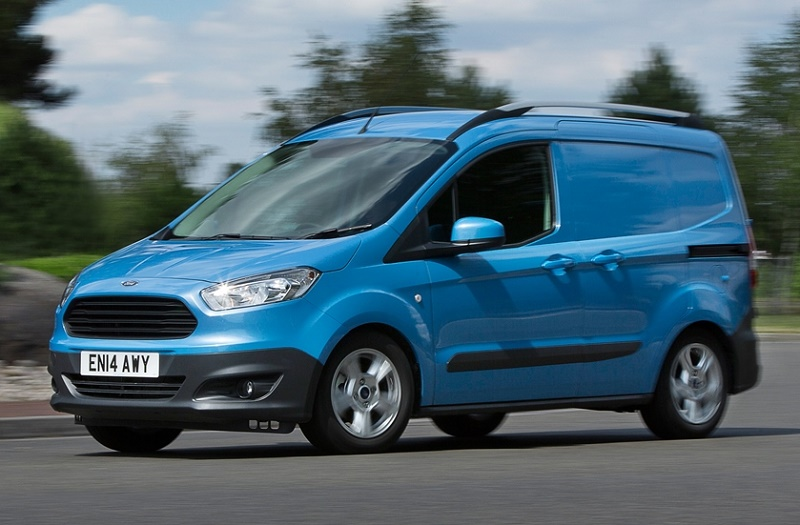 transit courier best small delivery van business vans