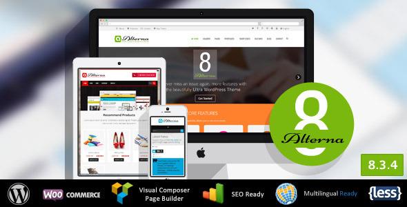 Alterna 7 Ultra Multi-Purpose Themeforest WordPress Theme v8.3.1