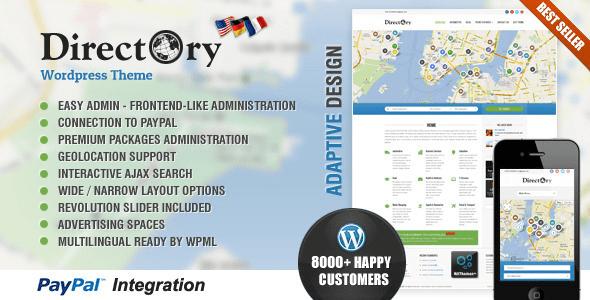 Directory Portal Themeforest WordPress Theme v4.16