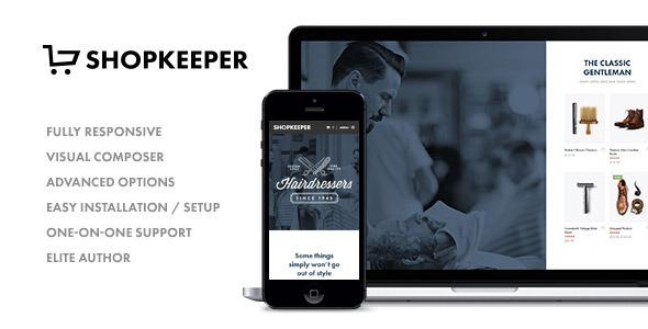 Shopkeeper – Responsive WordPress Theme v1.3.1