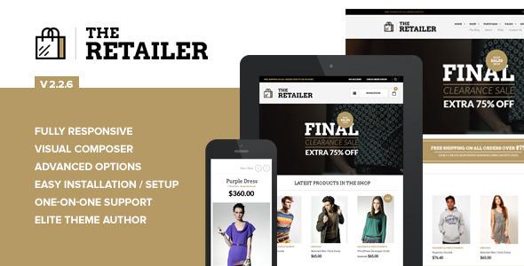 The Retailer – Responsive WordPress Woocommerce Theme v2.2.6