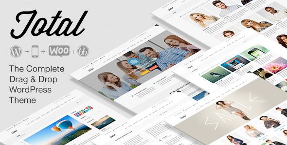 Total Responsive Multi-Purpose Themeforest WordPress Theme v2.0