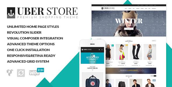 "UberStore -€"" Next-Level Multi-Purpose WordPress Theme v2.1.0"