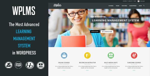 WPLMS Learning Management System v1.9.1