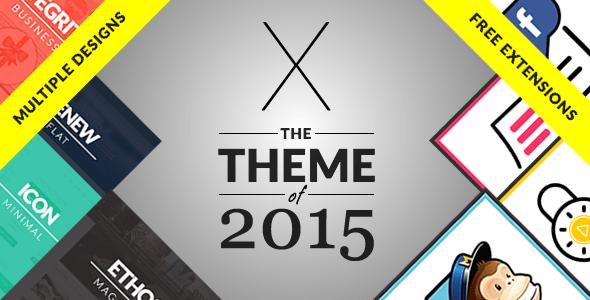 X The theme – The Ultimate WordPress Themeforest Theme v3.2.2