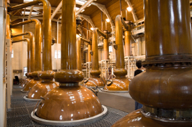 The Scottish scotch whisky industry is booming