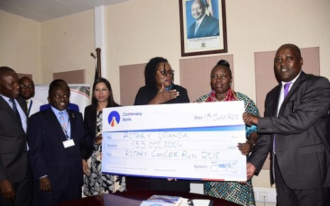 Centenary Bank makes Ush155M commitment towards Cancer Run