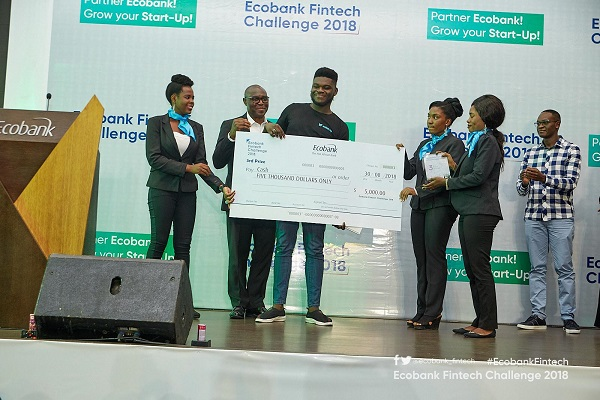 Wallet.ng from Nigeria were the second runners up.