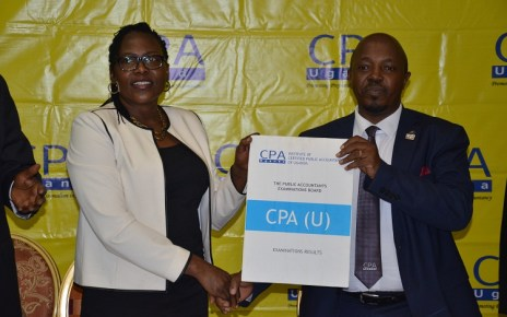 The Institute of Certified Public Accountants of Uganda (ICPAU) and the Public Accountants Examinations Board (PAEB) has released the CPA August 2018 Examinations Results, indicating that 107 candidates completed the CPA course compared to the 97 that completed in August 2017.