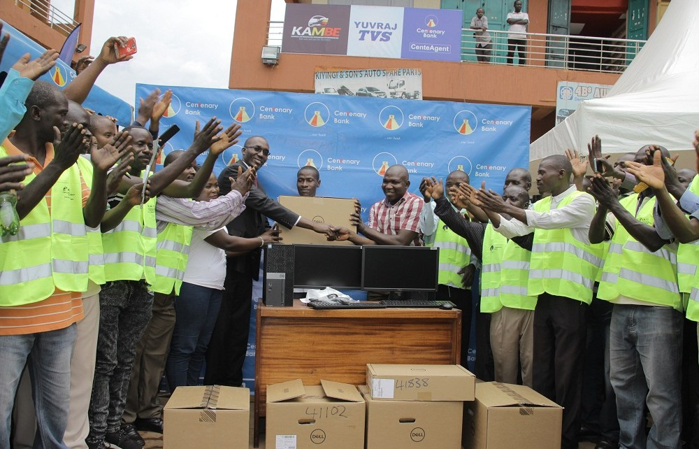 Centenary Bank, has moved to improve the lives of over 48000 boda-boda cyclists who are members of Kampala Metropolitan Boda Boda Entrepreneurs SACCO
