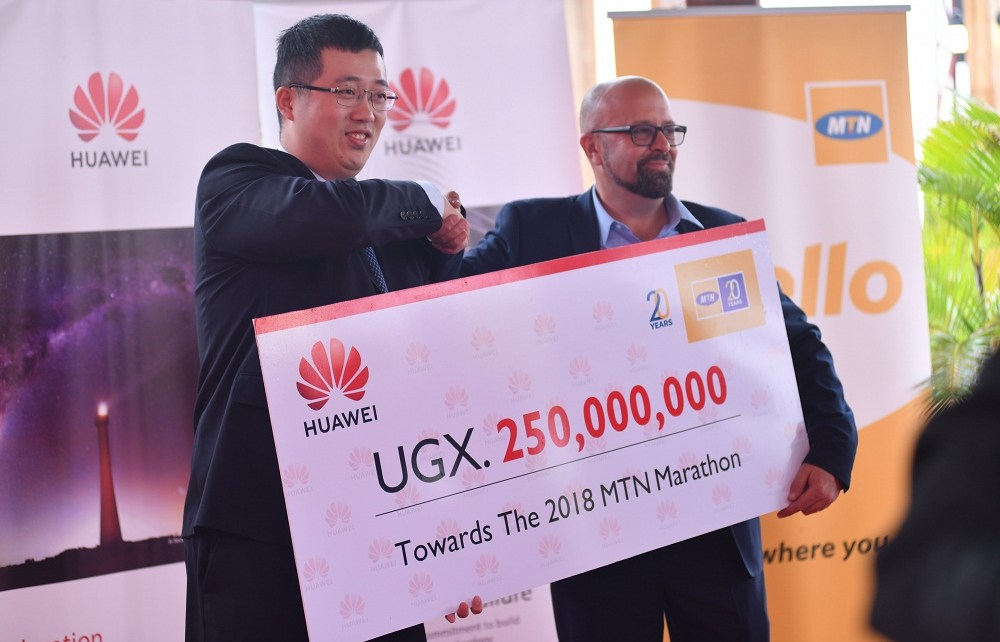 Huawei has today boosted the 2018 MTN Kampala Marathon with UGX250 million towards maternal health in Uganda.