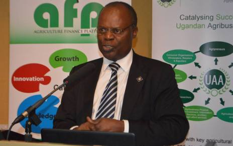Bank of Uganda deputy governor Luis Kasekende