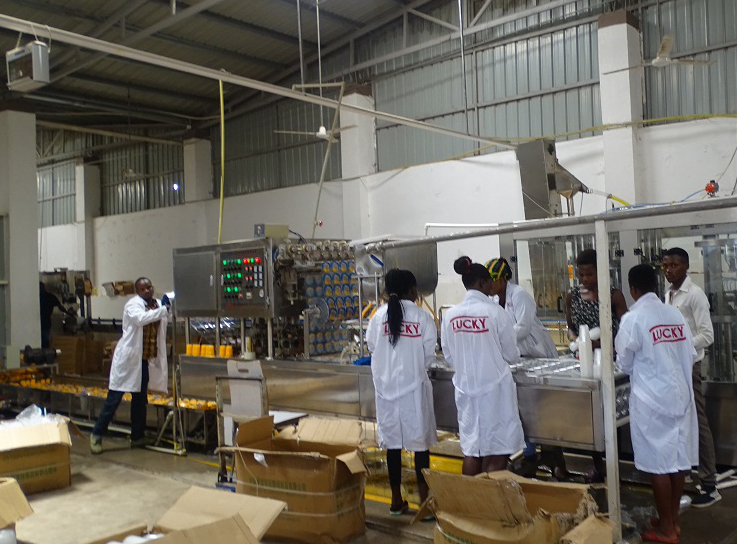 Uganda National Bureau of Standards (UNBS) recently closed a factory, Sunshare Investment Limited located in Mukono until further notice over failure to comply with the set standards in its production processes.