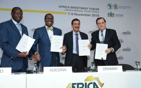 The African Development Bank alongside Islamic Corporation for the Insurance of Investment and Export Credit (ICIEC), African Trade Insurance Agency (ATI) and GuarantCo, on Wednesday signed a Memorandum of Understanding for a Co-Guarantee Platform
