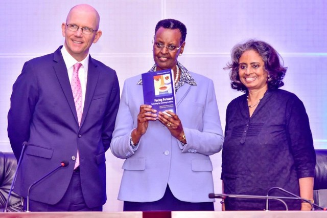 The First Lady, and Minister for Education and Sports,  Janet Museveni, who officiated at the launch of the study in Kampala, welcomed the report and said the findings would inform the new sector strategic plan and policy recommendations.