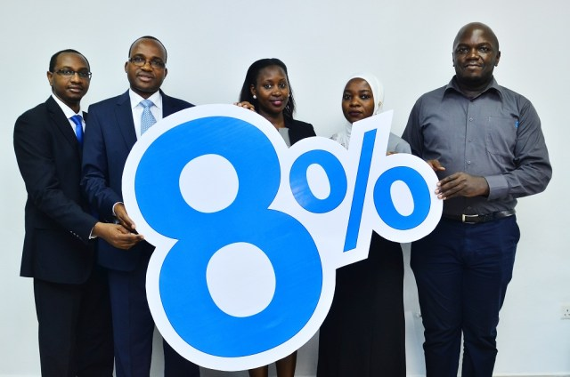 Sanlam Life Insurance Uganda announced an 8% bonus payment to its policyholders after a huge growth in business at 42% all attributed to Bancassurance.
