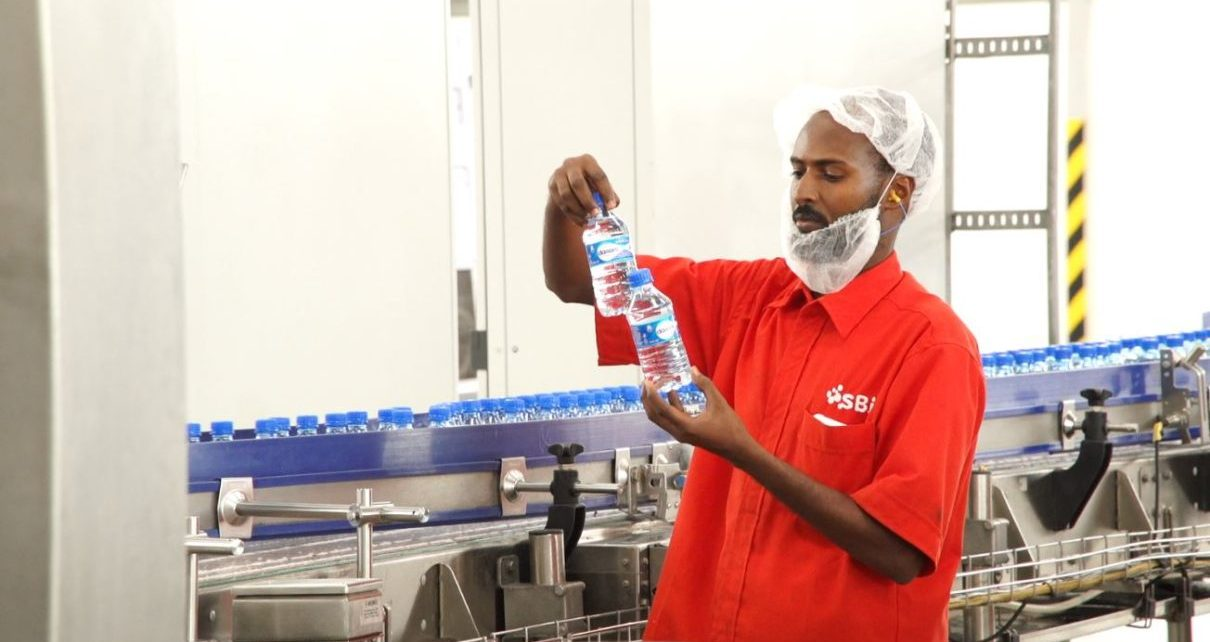 SBI also opened a water bottling plant in Burao (Somaliland's 2nd largest city in the Togdheer region)