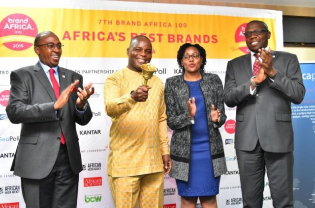 The most admired African brands spontaneously recalled by Africans were South Africa's leading pan-African telecoms brand, MTN, followed by Ethiopia's Anbessa and Nigeria's, Dangote.