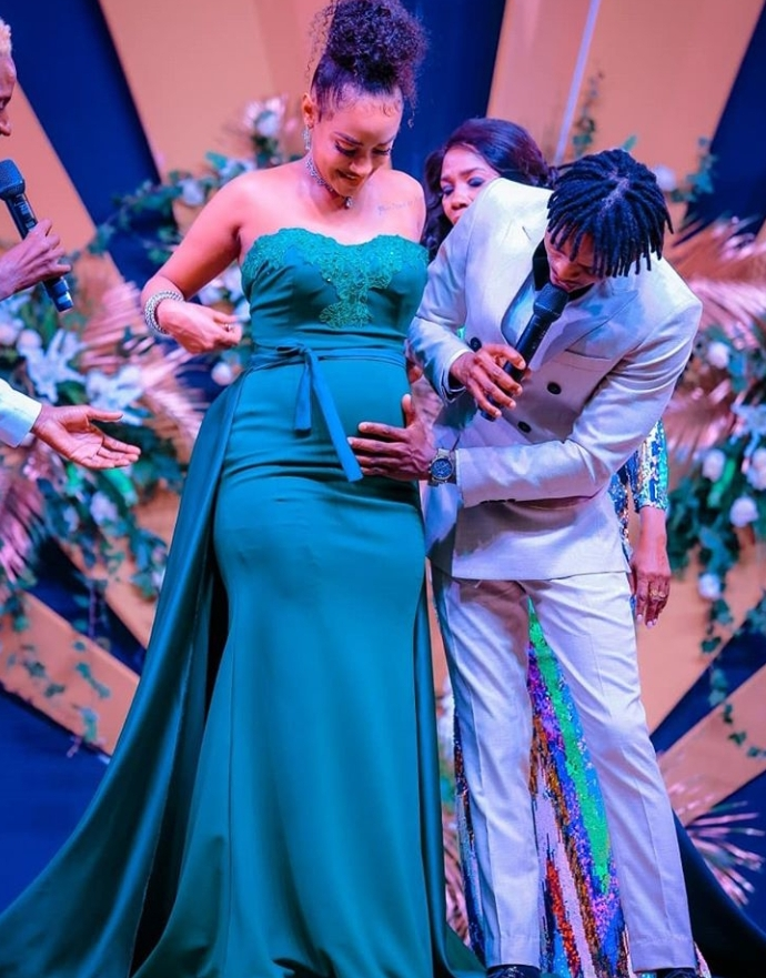 Diamond Platinumz completes East African baby hat-trick