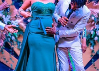 Platnumz and his Kenyan girlfriend Tanasha Donna are expecting a baby boy with Tanasha seven months along the way.