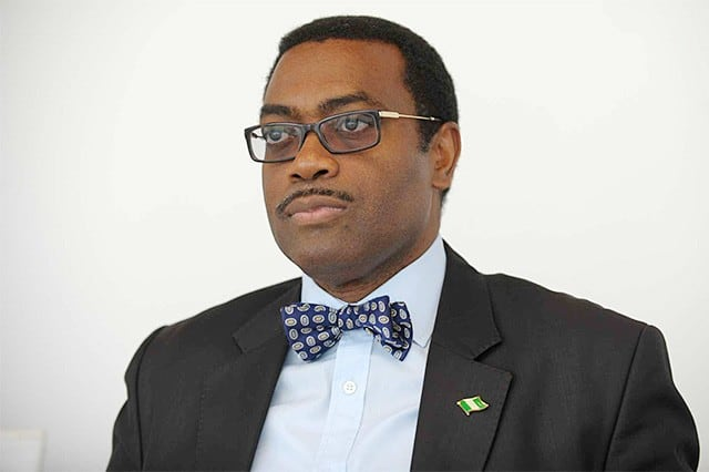President of the African Development Bank, Akinwumi Adesina