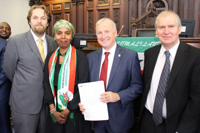 Early in the week, Birmingham joined Cardiff, Tower Hamlets and Sheffield United to approve Somaliland's right to sovereignty.