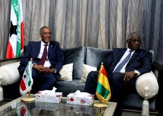 President Musa Bihi and President Conde