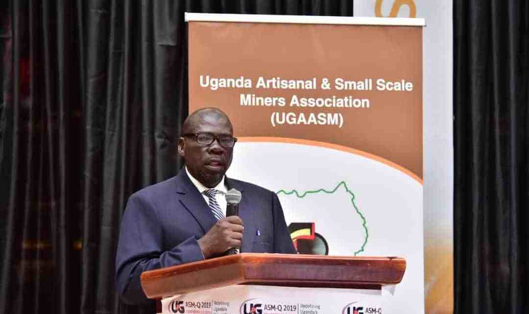 Zachary Baguma the Director at the Directorate of Geological Survey and Mines in the Ministry of Energy and Mineral Development