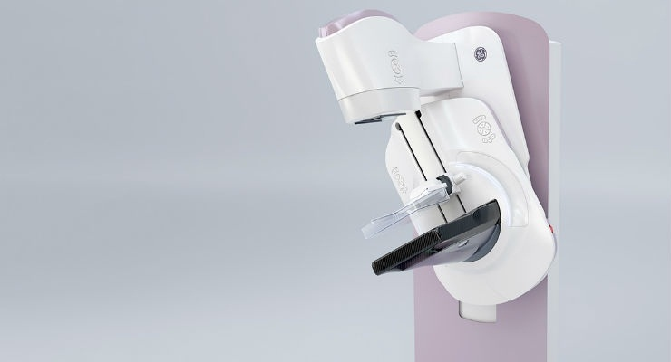 GE Healthcare's Senographe Pristina is engineered by Women for Women to help reduce pain, discomfort and anxiety women experience during mammography.