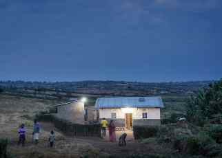 Mobisol_Electrified Customer House in Rwanda