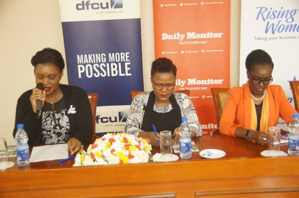 DFCU Rising woman initiative, now in its second year has been at the helm of building women business owners and women leaders.