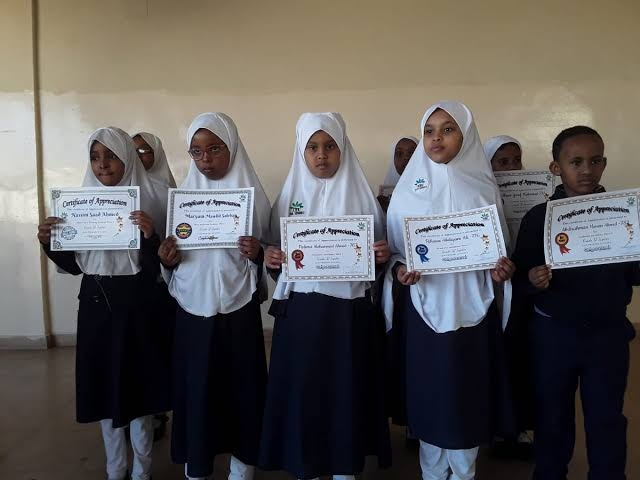 Somaliland remains unrecognized internationally but one school is placing the country on the world map.