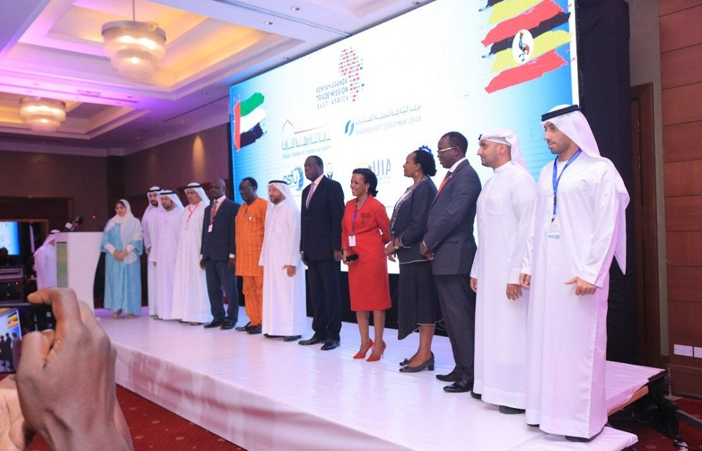 Uganda's Vice President Edward Kiwanuka Sekandi has called upon Arab Countries mostly people from the United Arab Emirates (UAE) to rush and grab the plenty of investment opportunities that the country beholds.