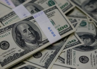 The Uganda shilling's movement against the U.S. dollar remained constrained within the 3695-3715 band in a lacklustre trading session on Tuesday.