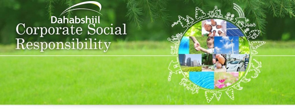 Dahabshiil, one of Africa's money transfer company is committed to providing social support as part of its Corporate Social Responsibility.