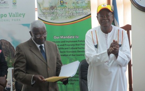 Uganda's  Ministry of Tourism, Wildlife and Antiquities has received a new leadership, the Former Minister of Local Government Col. Tom Butime has taken over from Professor Ephraim Kamuntu who has also taken over as the Minister of Justice and Constitutional Affairs.