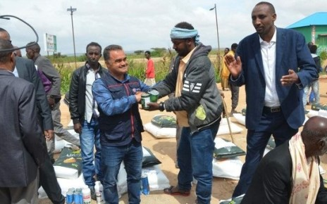 The Turkish Cooperation and Coordination Agency (TIKA) has launched a programme to help boost the quality and amount of crops and livestock in Somaliland.