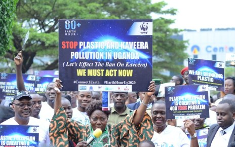 Uganda's State Minister for Environment Beatrice Atim Anywar has asked the general public to take immediate action against plastic and kaveera pollution.