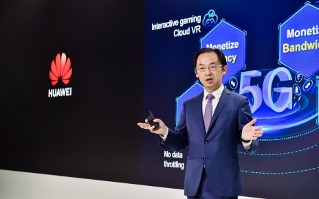 "At the Huawei product and solution launch in London, Ryan Ding, Executive Director of the Board and President of Huawei's Carrier BG, delivered a keynote titled ""5G, Bring New Value""."
