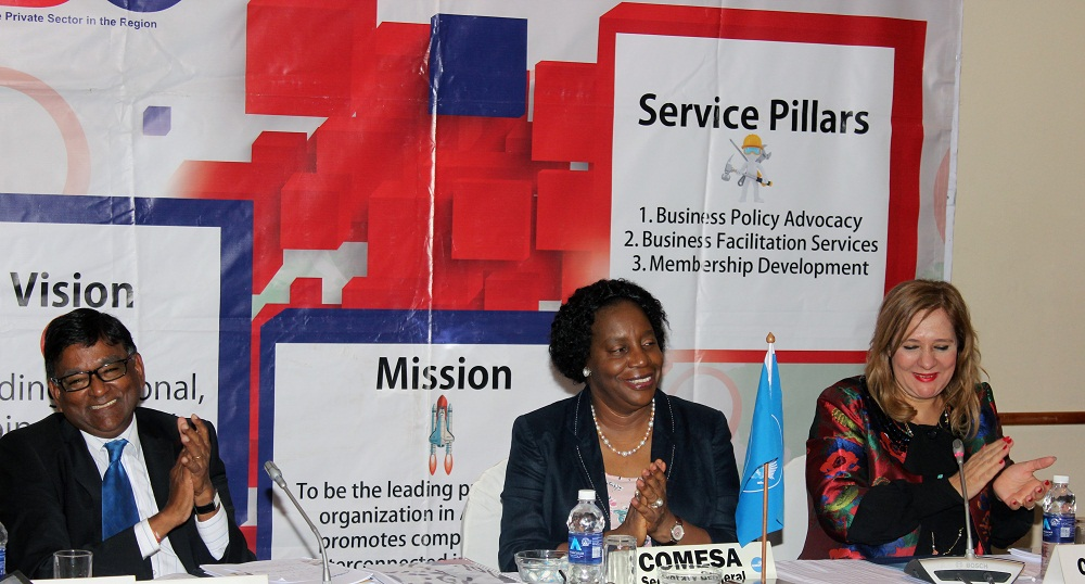 In light of the various disruptions to business and supply chains across the region due to COVID-19, it is crucial that we support regional production and trade of essential supplies such as masks and sanitizers; furthermore, address the challenges regarding air cargo logistics within COMESA, Marday Venkatasamy, the COMESA Business Council Chairperson has said.