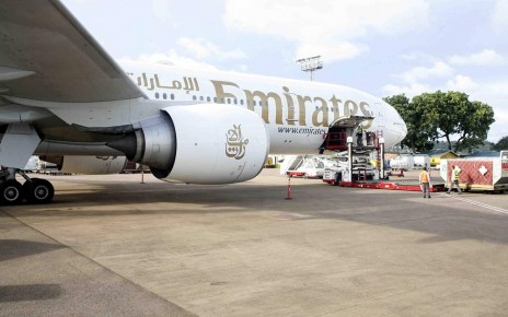 Emirates SkyCargo has utilised the cargo capacity on its Boeing 777-300ER passenger freighter aircraft to facilitate the movement of goods to and from Uganda.